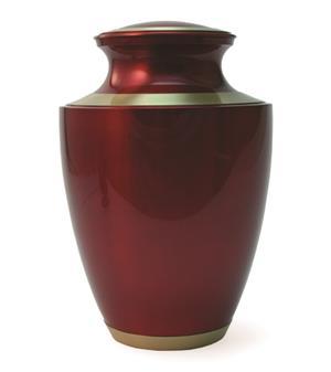 Crimson Adult Urn