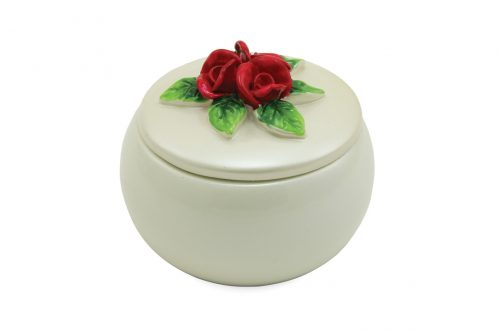 Red Roses Keepsake Urn